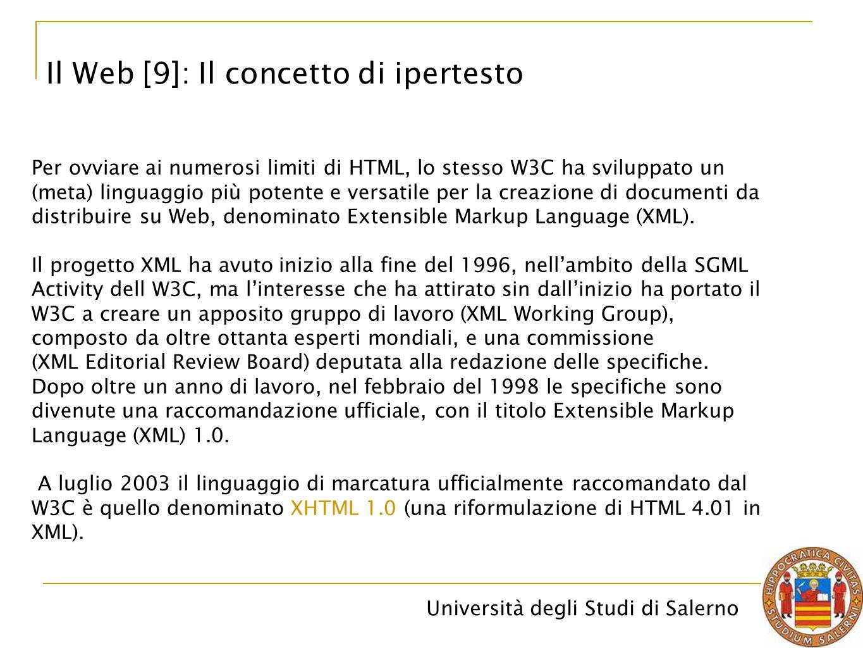 Il Web [9]: Il concetto di ipertesto